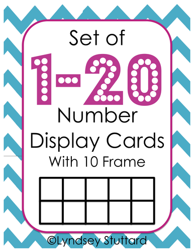 1-20 Number Display