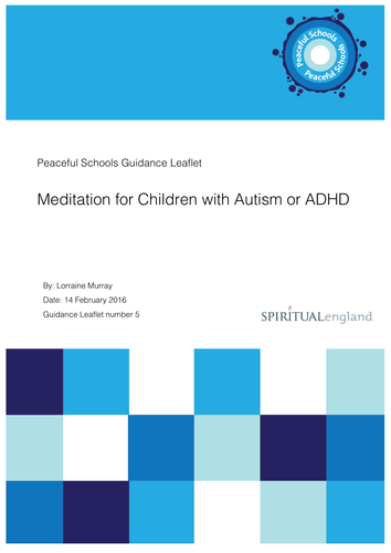 Meditation for Children with Autism or ADHD