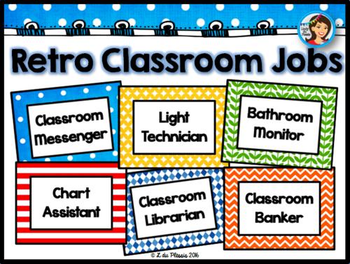 Classroom Job Ideas Middle School ~ Classroom jobs by lindylovestoteach teaching resources tes