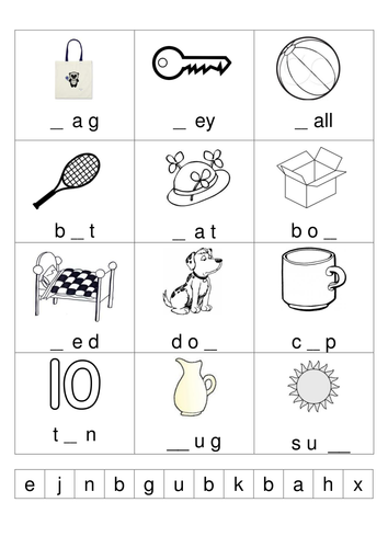 missing letter worksheet by lynellie teaching resources tes. Black Bedroom Furniture Sets. Home Design Ideas