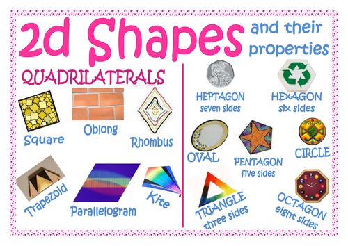 how to teach 2d and 3d shapes
