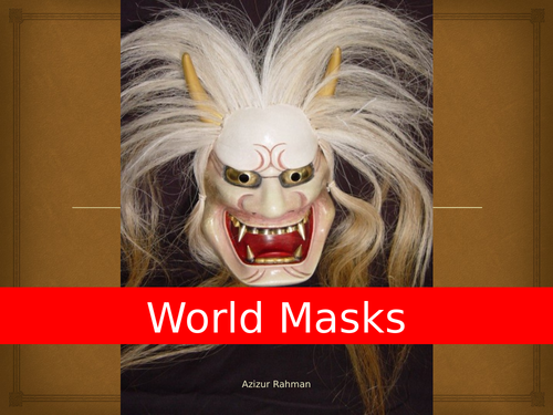 Art: World Masks