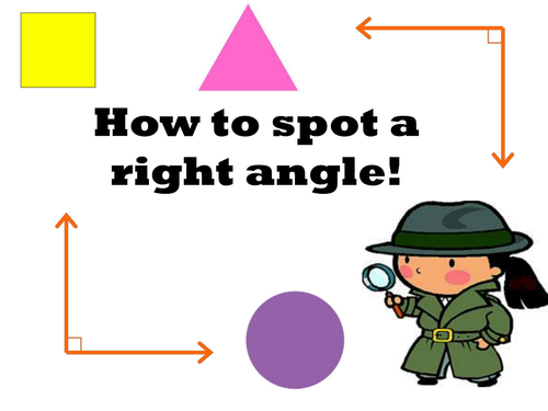 Right angles Year 3 WOW activity included - weekly plan and resources