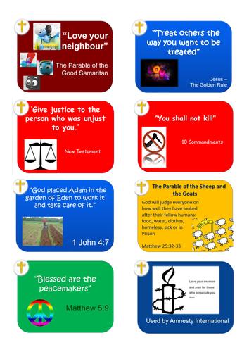 GCSE Religious Studies Quotes Flashcards