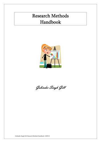 Research Methods Handbook