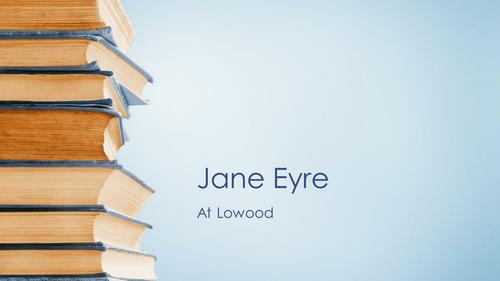 Jane Eyre PowerPoints WJEC Eduquas AS Literature