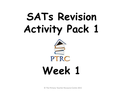 Year 6 SATs Bumper Revision Pack by ResourceCentre