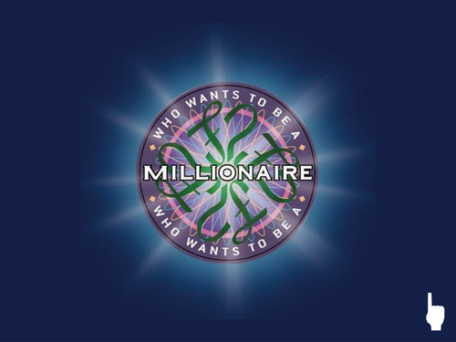 Who Wants To Be A Millionaire Ict Ppt Guide To Making Template