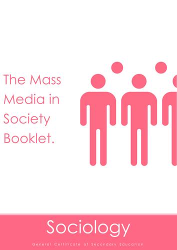 Nubila Education | GCSE Sociology | Mass Media in Society Booklet
