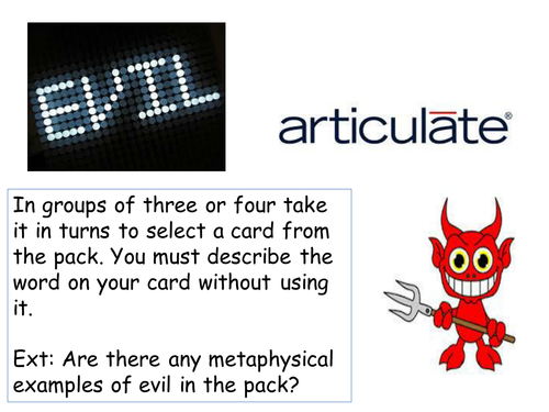 Evil and suffering - What is evil?