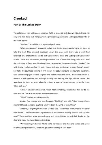 Narrative Writing: Crooked
