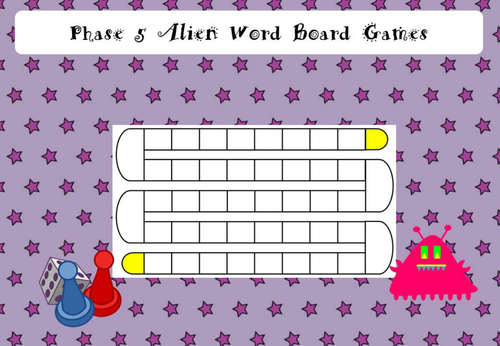 Phase 5 Alien Real Word Sorting by HekkyB - Teaching Resources - Tes
