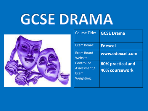 hard to swallow drama exam evaluation The themes we study in drama influence all shakespeare and a range of verbatim theatre including hard to swallow by mark theatre evaluation.