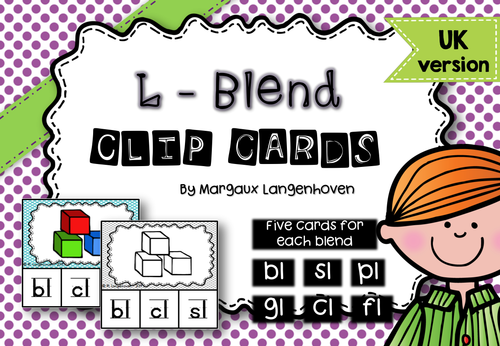 L - Blend Clip Cards