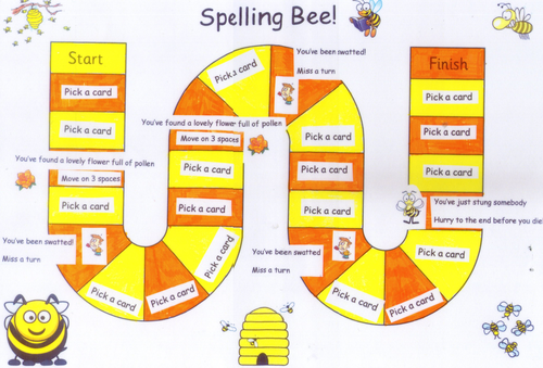 spelling bee game by bag3 teaching resources. Black Bedroom Furniture Sets. Home Design Ideas