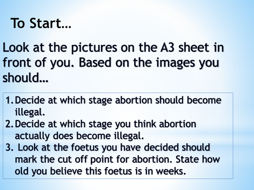 Introduction to abortion