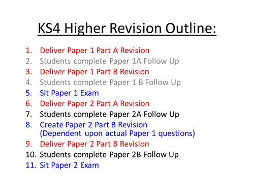 GCSE Maths Revision - Higher Tier Target Grade A and A* Paper 1 Part A