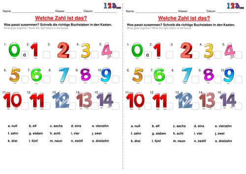 german numbers by lmd030190 teaching resources tes. Black Bedroom Furniture Sets. Home Design Ideas