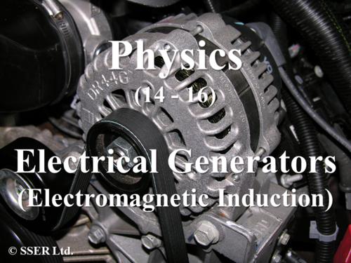 1.4.1 Electrical Generators