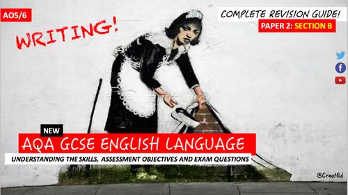 English writing section