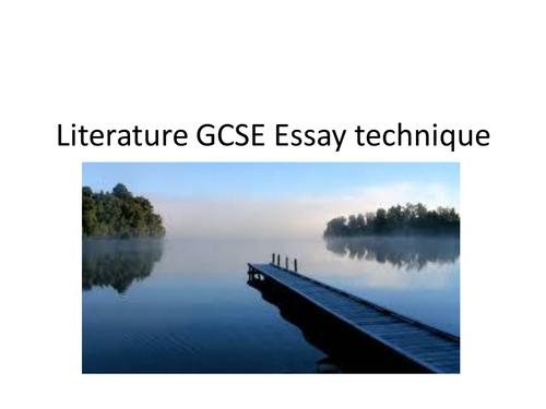 Essay Technique Powerpoint