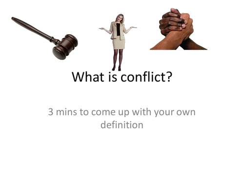 'All My Sons' family conflict powerpoint