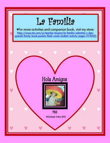 La Familia Worksheet Teaching Resources