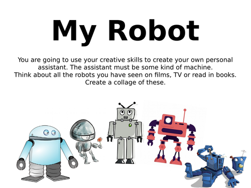My Robot- Creative writing