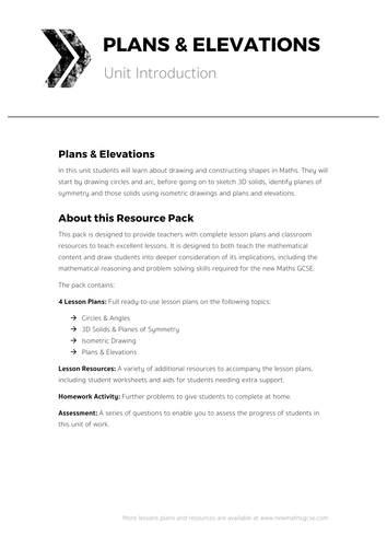 Plan Elevation Tes : Calculating probabilities complete lesson by tomotoole