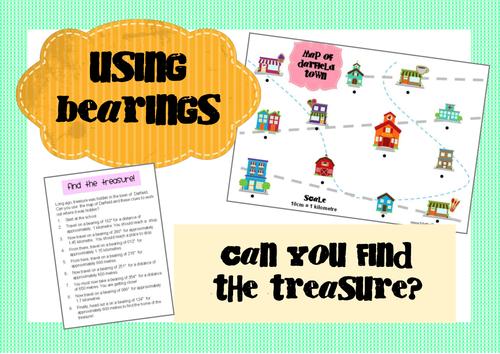 Bearings Treasure Map Activity