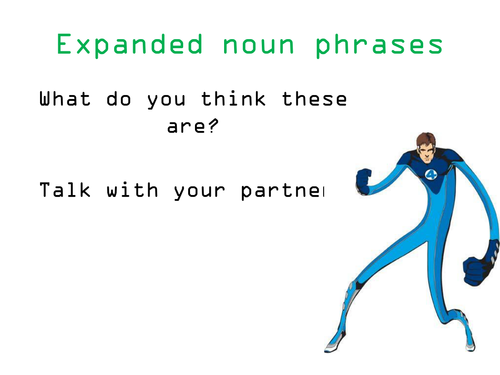 Expanded Noun Phrases Focus On Adverbs By Frabjousday Teaching