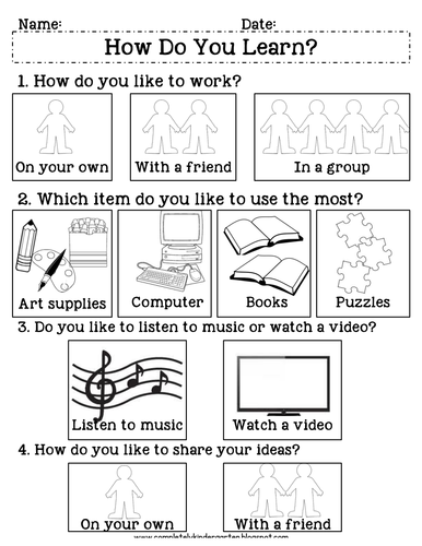 Multiple Intelligences Survey: How Do You Learn?