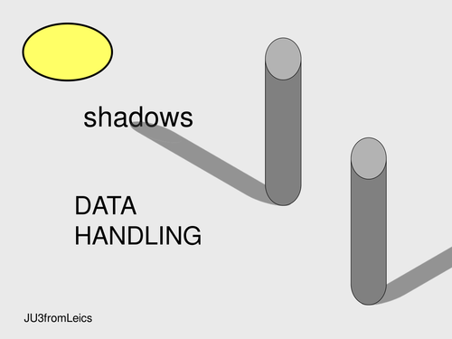 SHADOWS  experiment and data handling