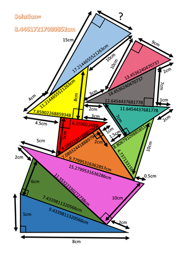 Pythagoras Theorem Pile Up By Hannahcoxhead Teaching