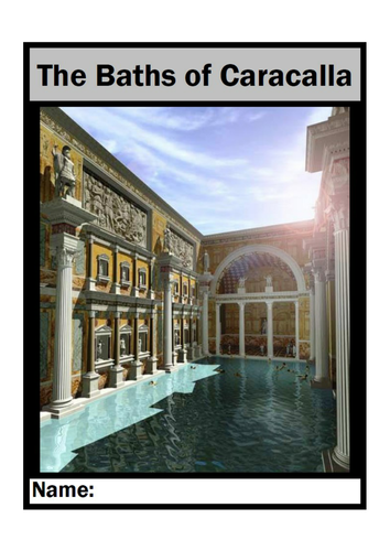 Report Booklet:  The Roman Baths of Caracalla