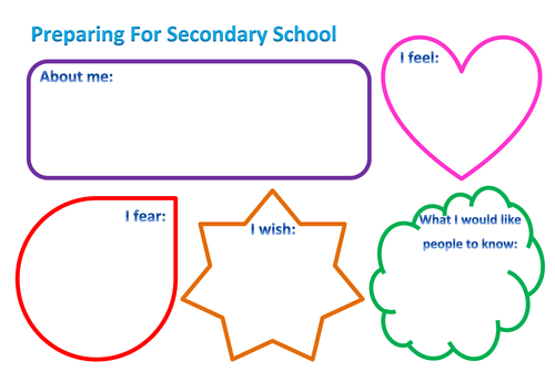 Preparing for Transition from Primary to Secondary School by dani ...