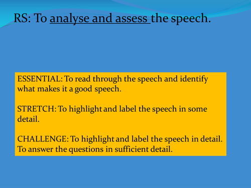 an analysis of horatios speech to fortinbra Summary: act i, scene ii the morning after horatio and the guardsmen see the ghost, king claudius gives a speech to his courtiers, explaining his recent marriage to gertrude, his brother's widow and the mother of prince hamlet.
