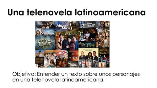 Una telenovela latinoamericana 1 - Reading relationships SER & ESTAR