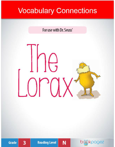 The Lorax Vocabulary Connection, Third Grade