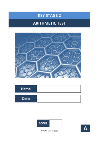 Key Stage 2 Arithmetic Test - A