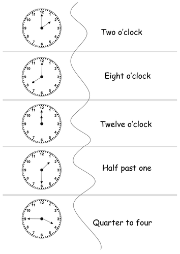 Learn to Tell The Time - Analogue