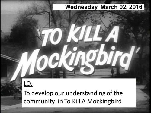 irony in to kill a mockingbird