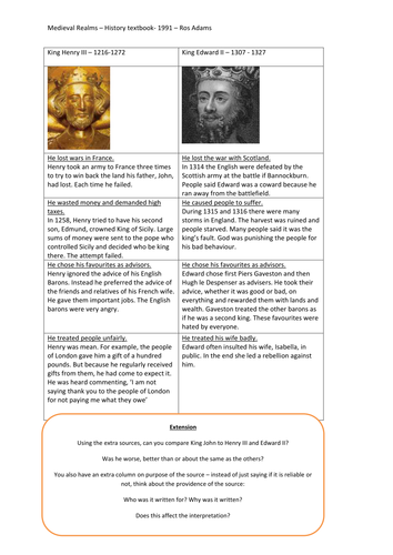 King John - An interpretation lesson