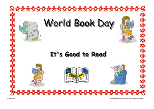 World Book Day Worksheets ( Text  version )
