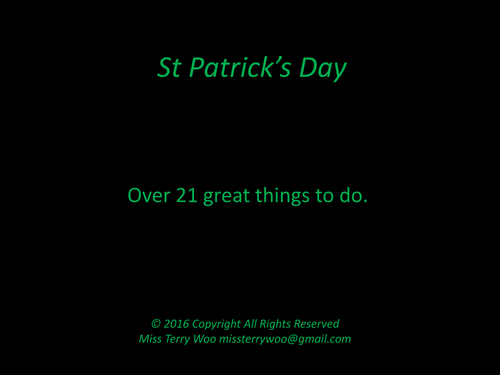 St Patrick's Day Over 21 Great Things To Do