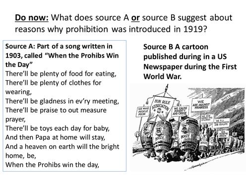 Impact of Prohibition