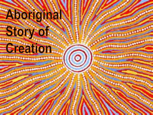 Aboriginal Creation Story