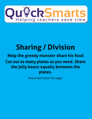 Greedy monster sharing/division