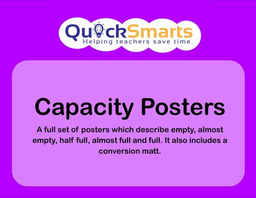 Capacity instant display