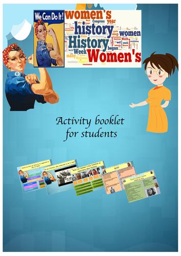 International Women's Day in French (lesson +exercices)  Journée international  de la femme Francais